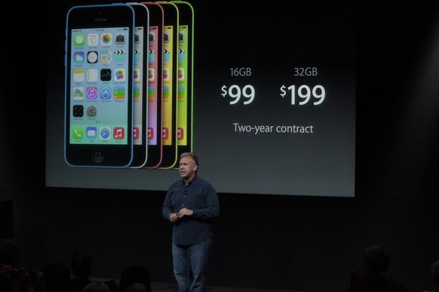 iPhone5cの価格