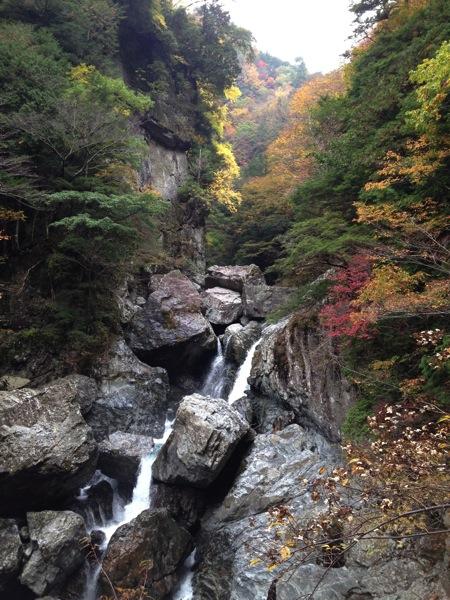 みたらい渓谷景色1