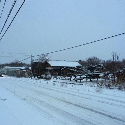 函館雪景色