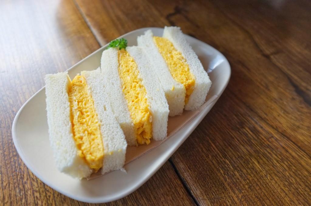 カヤバ珈琲のサンドイッチ