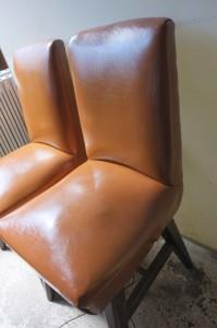 カヤバ珈琲の椅子
